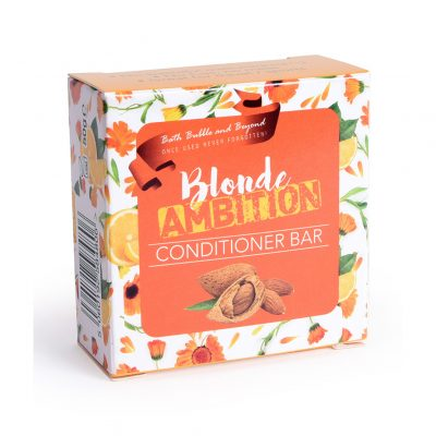 Bath Bubble and Beyond Blonde Ambition Conditioner Bar