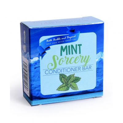 Bath Bubble and Beyond Mint Sorcery Conditioner Bar