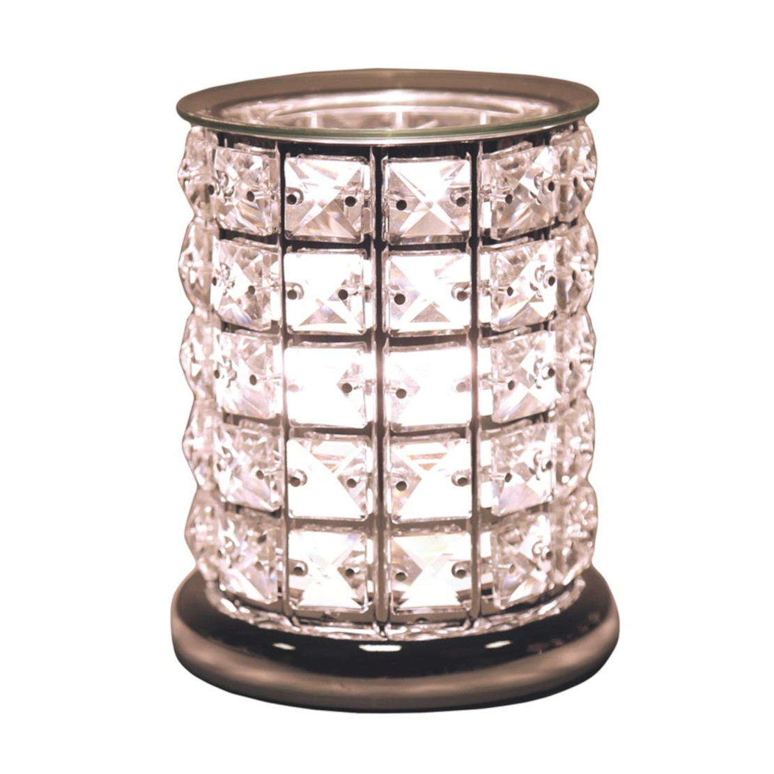 Aroma by Aromatize Clear Crystal Electric Wax Burner