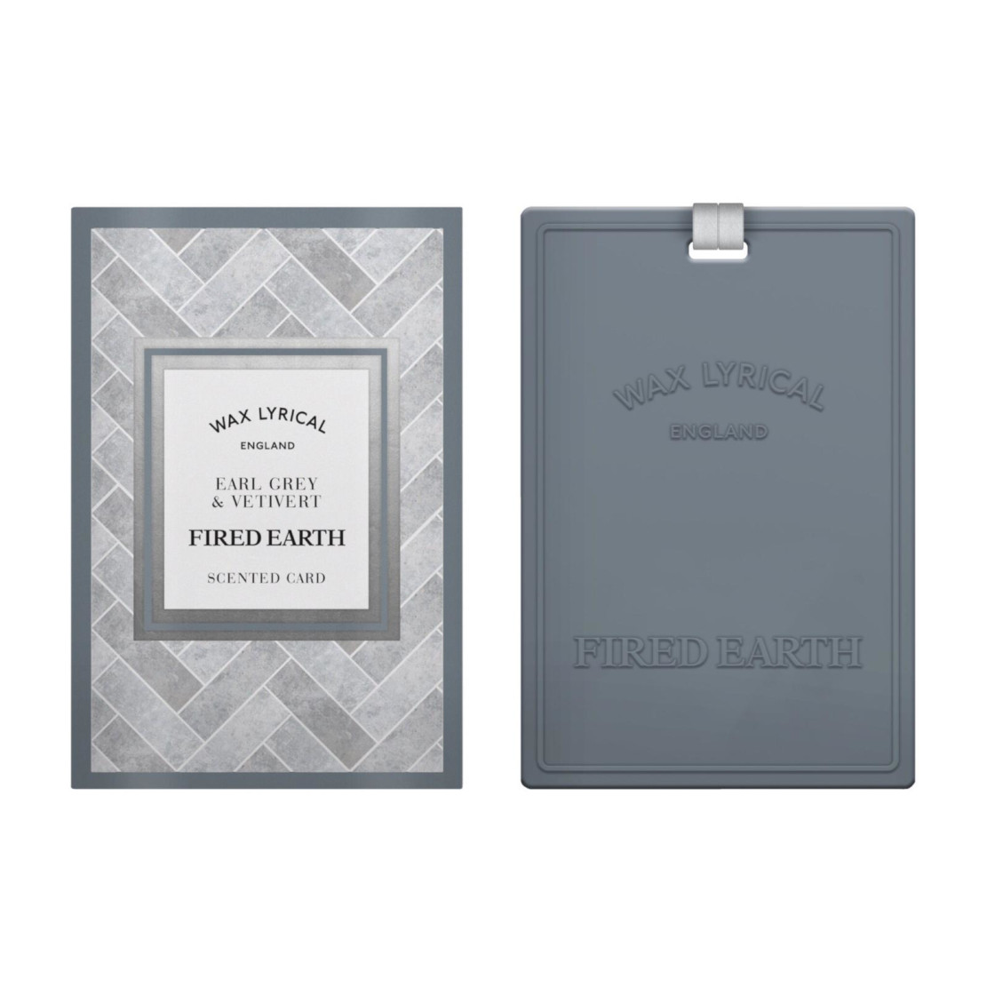 Wax Lyrical Fired Earth Speciality Earl Grey & Vetivert Scented Card