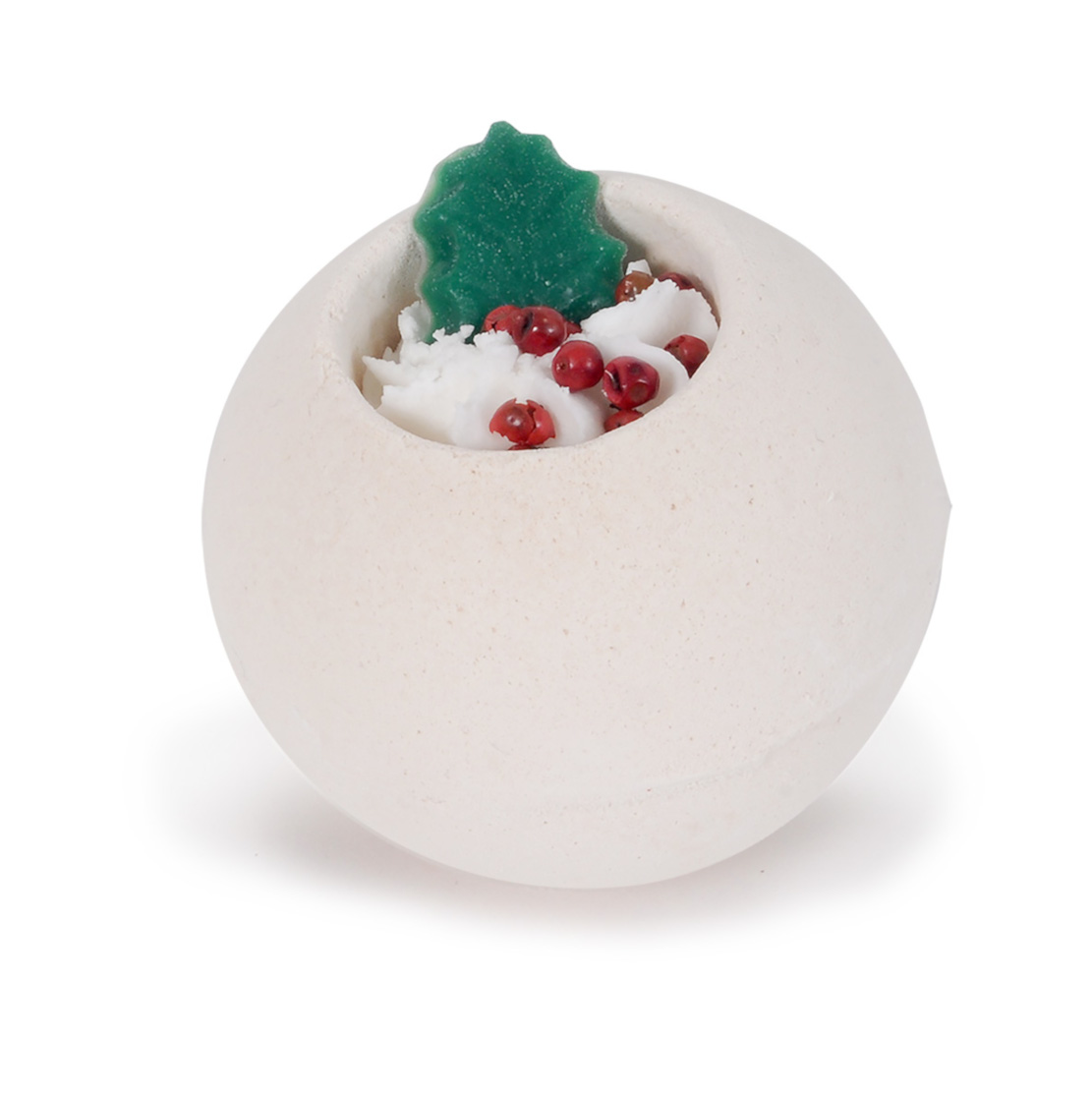 Bath Bubble and Beyond Happy Holly Day Whole Ball Fizzers