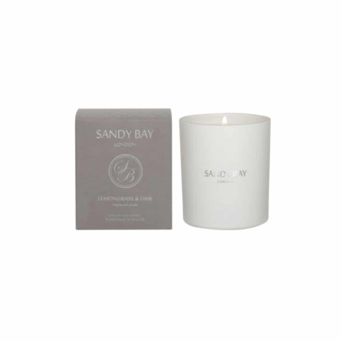 Sandy Bay Lemongrass and Lime 30cl candle