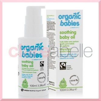 Organic Babies Soothing Baby Oil – Scent Free