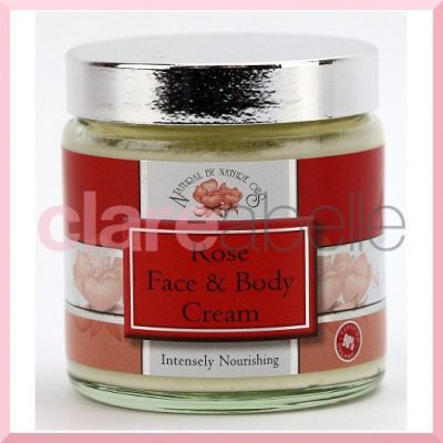 Natural By Nature Oils Rose Face & Body Cream 100g