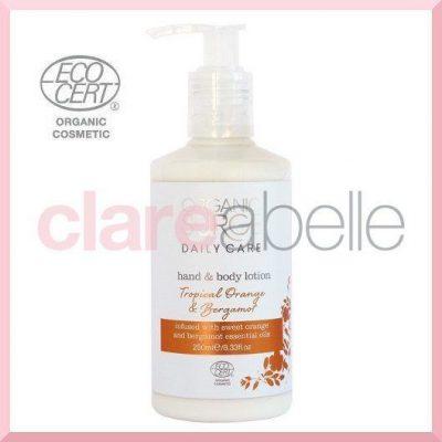 Tropical Orange & Bergamot Hand & Body Lotion 250ml