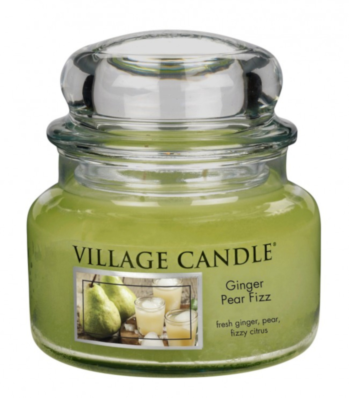 Village Ginger Pear Fizz 11oz Small Jar Candle