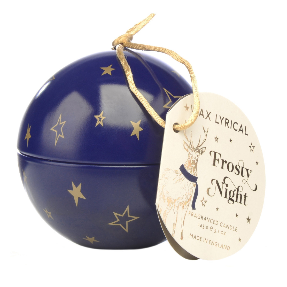 Wax Lyrical Frosty Night Bauble Candle and Cracker Diffuser