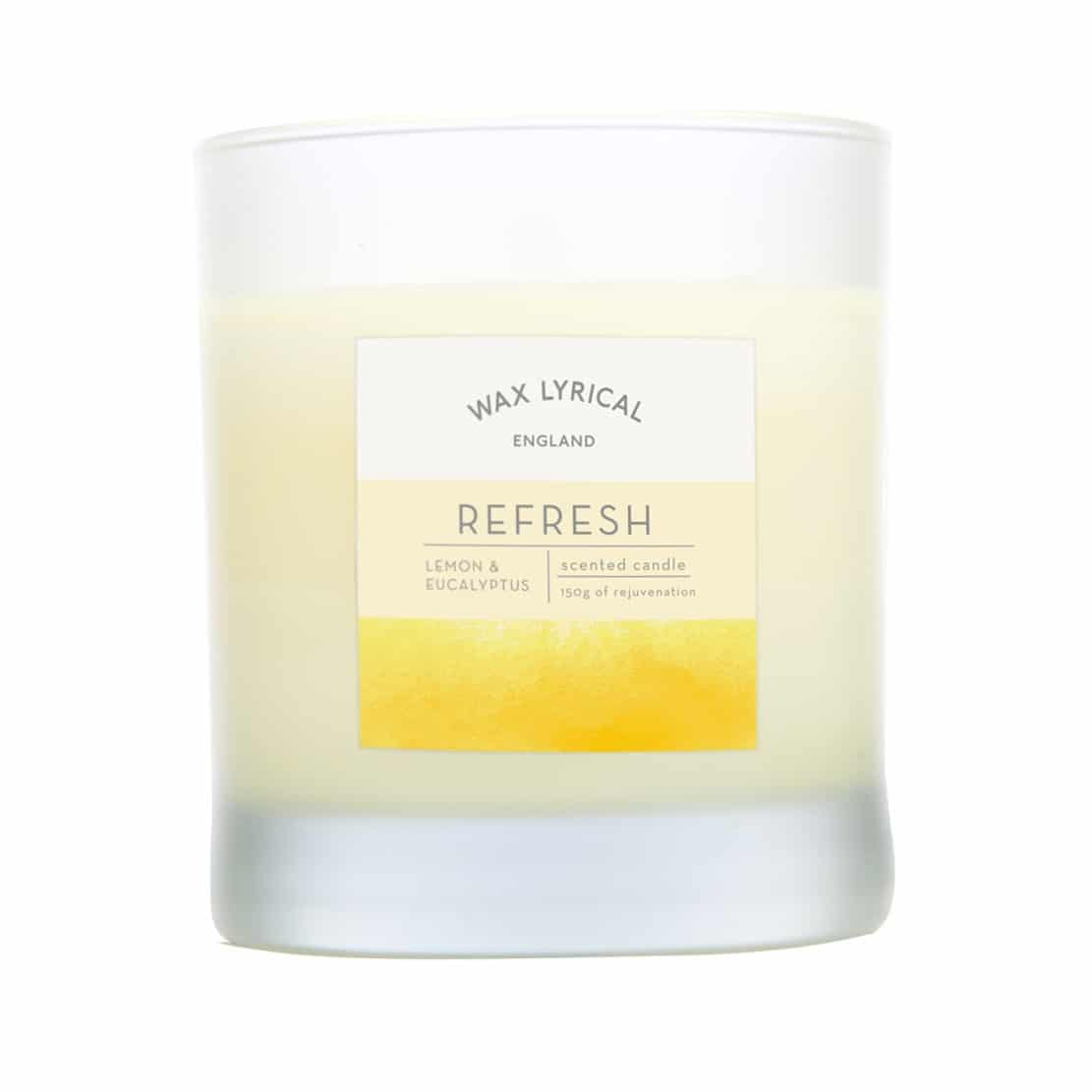 Wax Lyrical Refresh Wax Filled Glass Candle