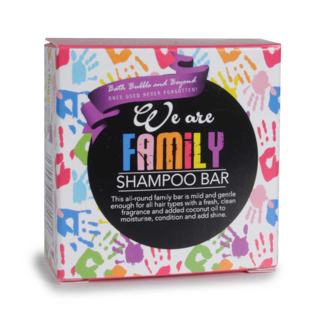 Bath Bubble and Beyond We are family Shampoo Bar