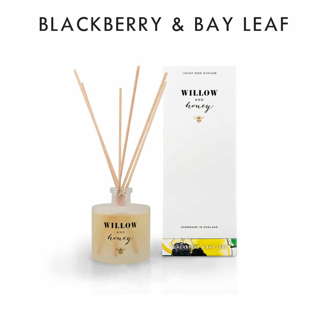 Willow and Honey Blackberry and Bay Leaf Diffuser 200ml