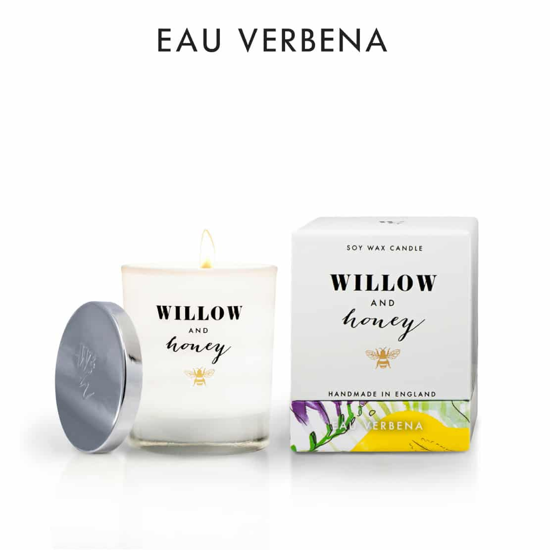 Willow and Honey Eau Verbena Candle 220g