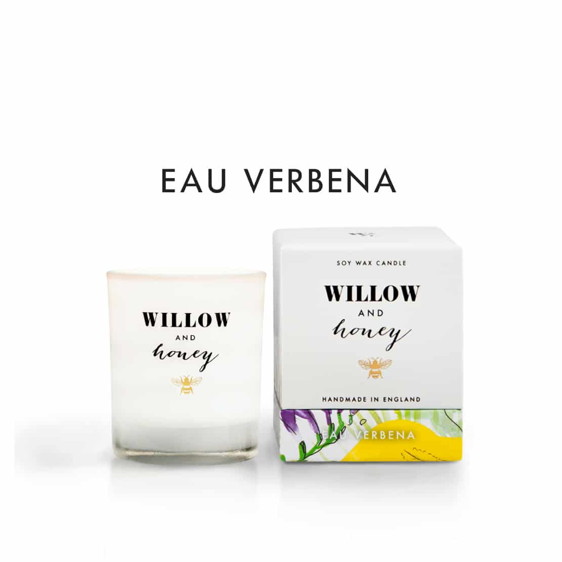 Willow and Honey Eau Verbena Candle 60g