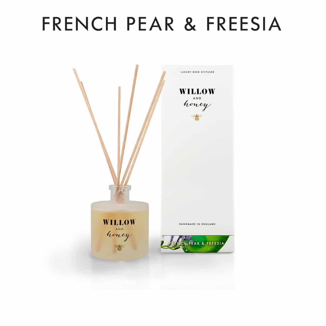 Willow and Honey French Pear and Freesia Diffuser 200ml