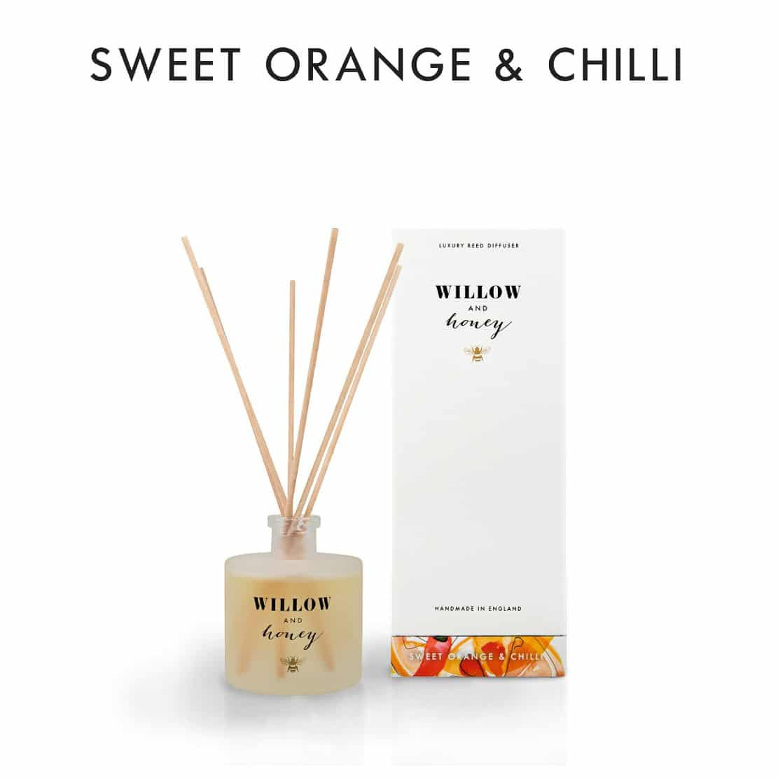 Willow and Honey Sweet Orange and Chilli Diffuser 200ml