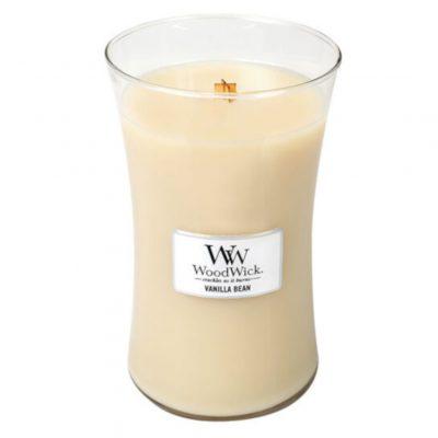 Woodwick Vanilla Bean Large Jar Candle