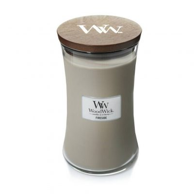 Woodwick Fireside Large Jar Candle