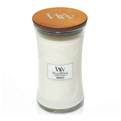 Woodwick Magnolia Large Candle
