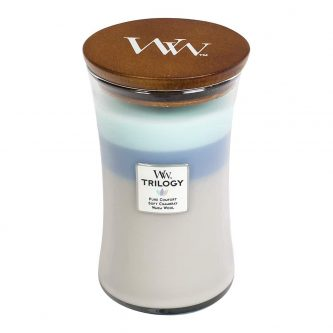 Woodwick Trilogy Woven Comforts Large Jar Candle