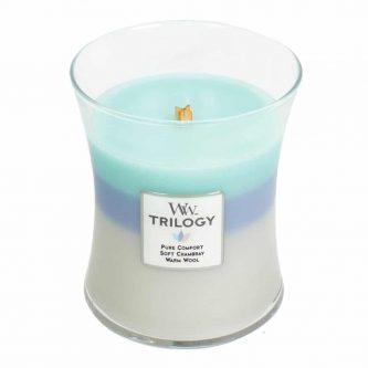 Woodwick Trilogy Woven Comforts Medium Jar Candle