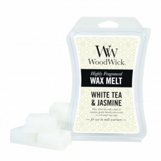 Woodwick White Tea and Jasmine Wax Melt