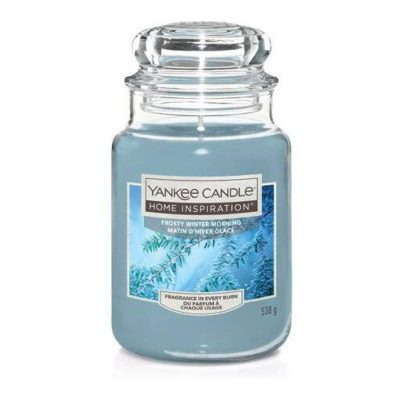 Yankee Candle Frosty Winter Morning Large Jar