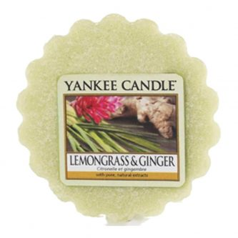 Yankee Candle Lemongrass and Ginger Wax Melt