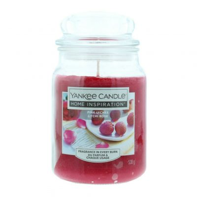 Yankee Candle Pink Lychee large jar