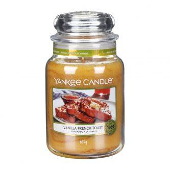 Yankee Candle Vanilla French Toast Large Jar