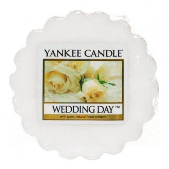 Yankee Candle Wedding Day Wax Tart