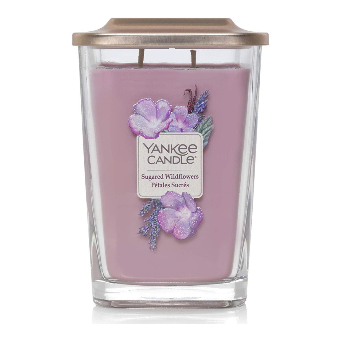 Yankee Candle Elevation Sugared Wildflowers Large Jar
