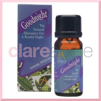 Absolute Aromas Goodnight Aromatherapy Blend 10ml