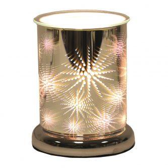 Aromatize 3d Firework Electric Cylinder Wax Burner