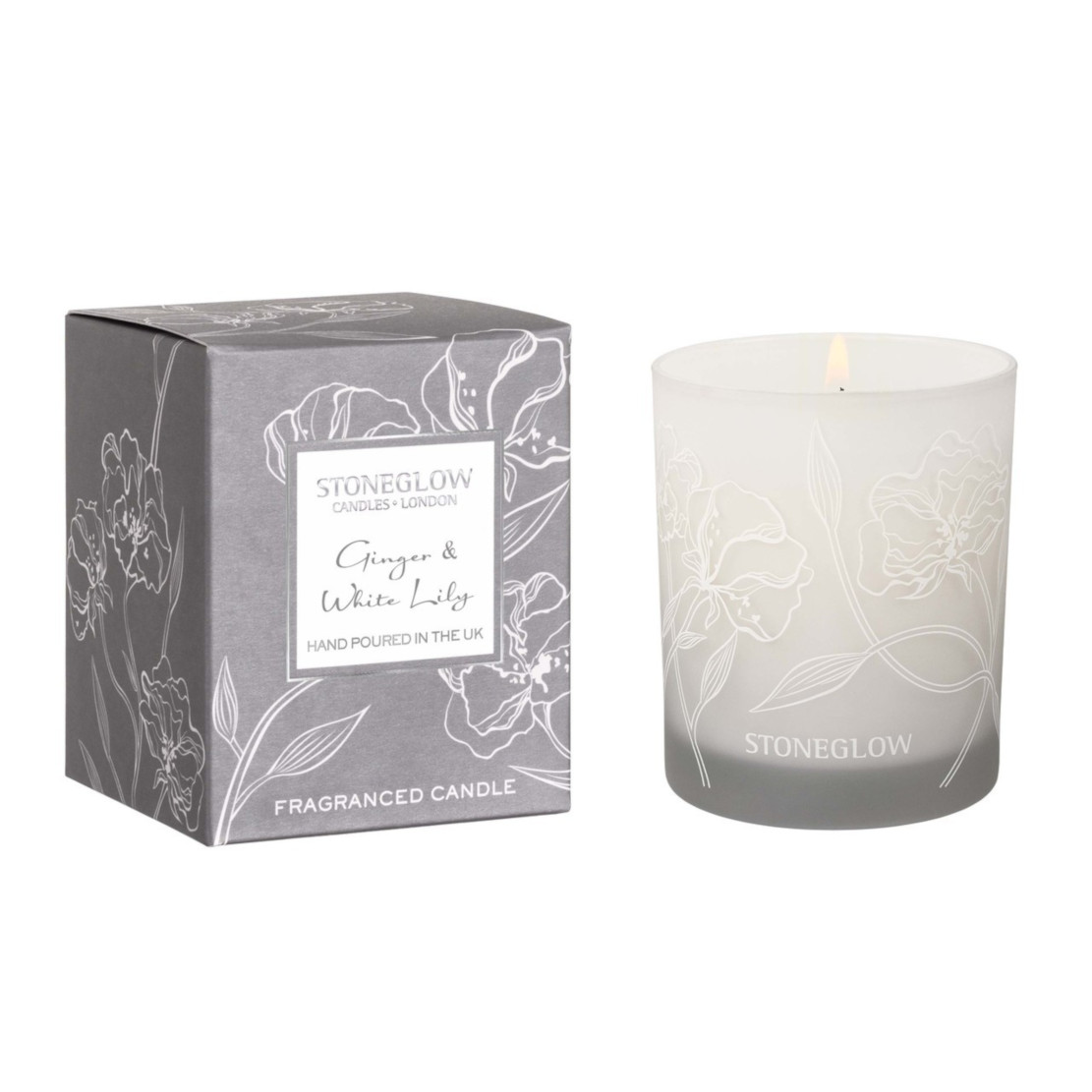 Stoneglow Day Flower Ginger & White Lily Tumbler