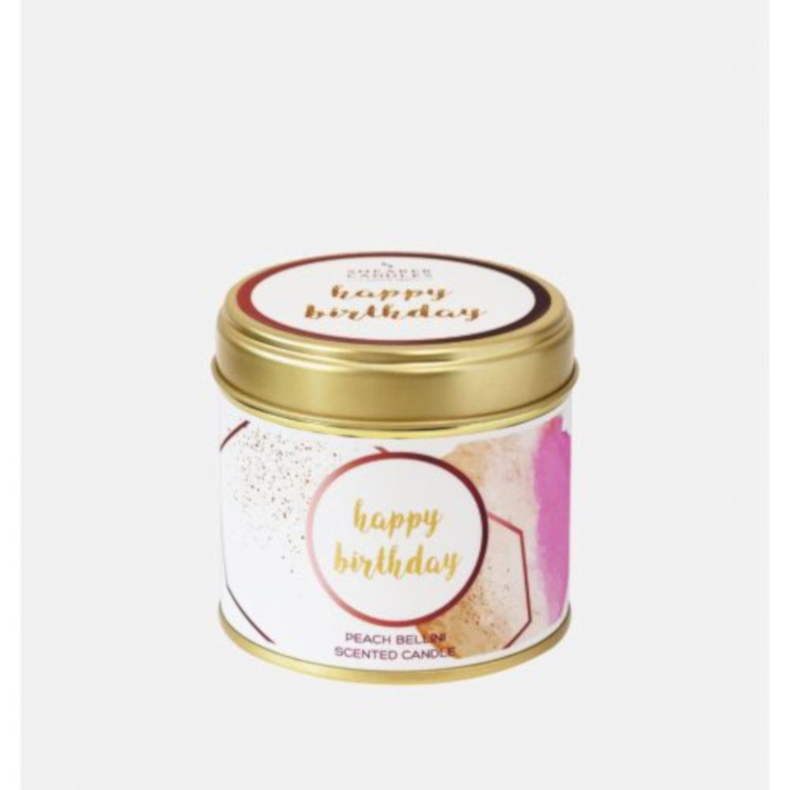 Shearer Happy Birthday Large Scented Tin Candle