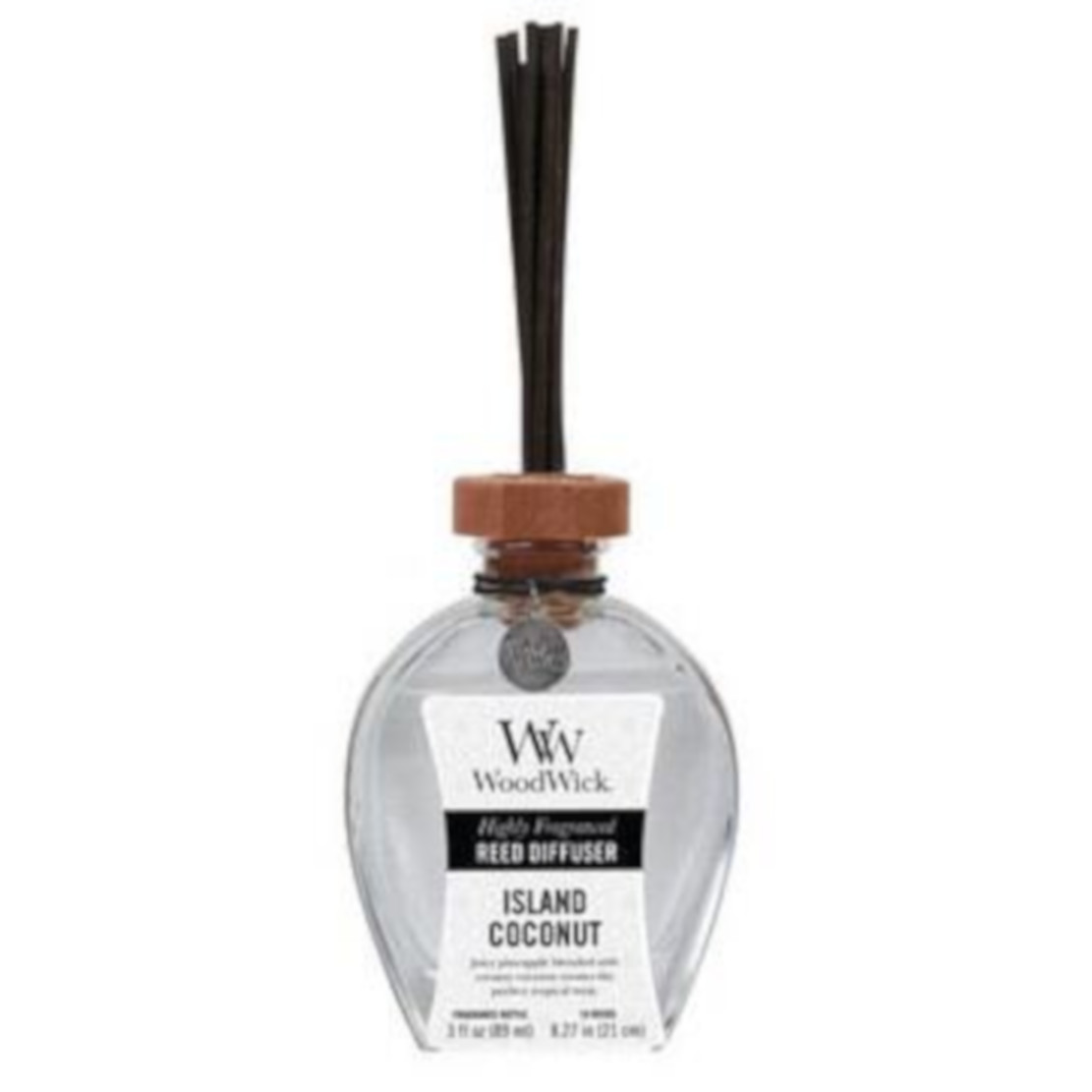 Woodwick Island Coconut Reed Diffuser