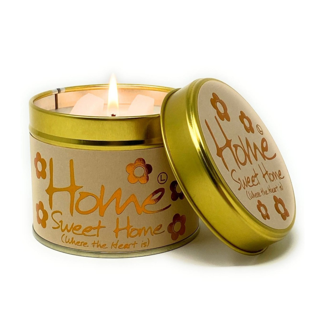 Lily Flame Home Sweet Home Scented Tin Candle