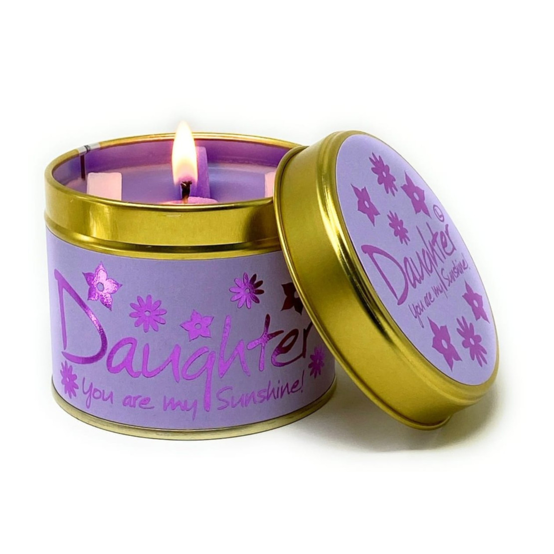Lily Flame Daughter Scented Tin Candle