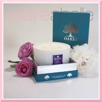 Oakes Candles - Oudh Three Wick Candle 500g