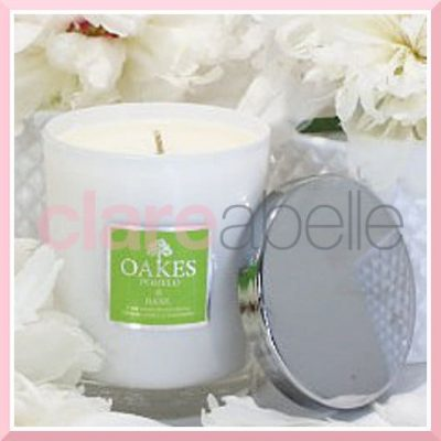 Oakes Candles - Pomelo & Basil Votive Candle 180g