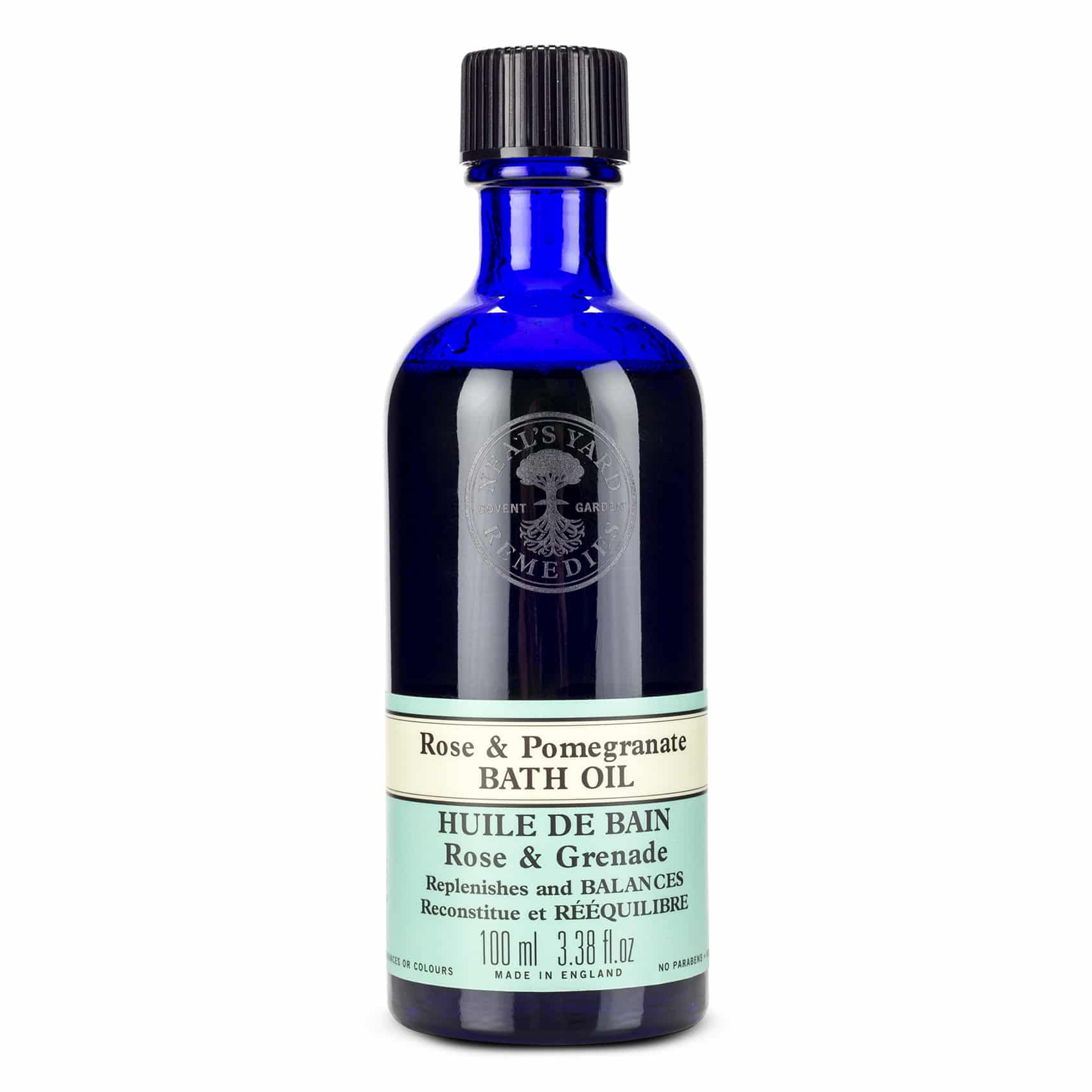 Neal's Yard Remedies Rose and Pomegranate Bath Oil 100ml