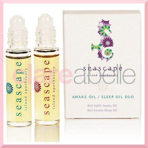 Seascape Awake Oil / Sleep Oil Duo Gift Set