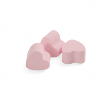 Bath Bubble and Beyond Damask Rose Mini Bath Hearts X6