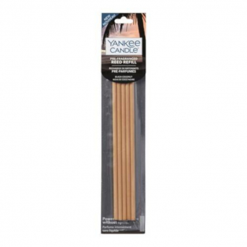 Yankee Candle Black Coconut Pre-Fragranced Reed Diffuser Refills