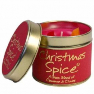 Lily Flame Christmas Spice Tin Candle