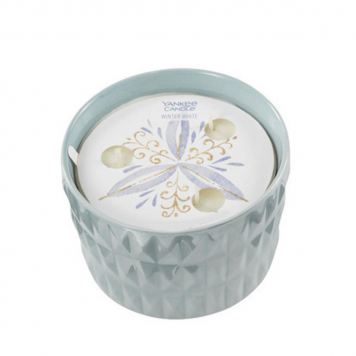 Yankee Candle All is Bright Winter Wish Ceramic Candle