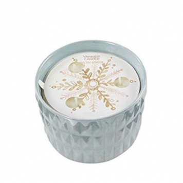 Yankee Candle Holiday Glimmer Winter Wish Ceramic Candle