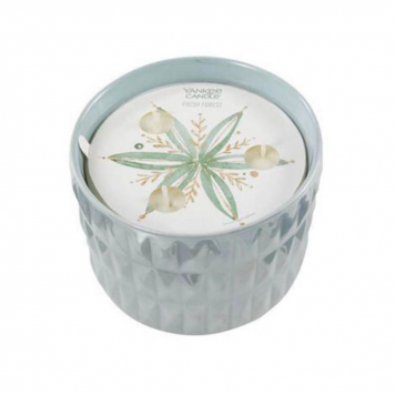 Yankee Candle Fresh Forest Winter Wish Ceramic Candle