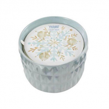 Yankee Candle Snowy Night Winter Wish Ceramic Candle