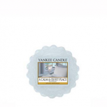 Yankee Candle A Calm and Quiet Place Wax Tart