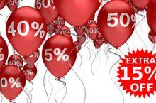 January Sale PLUS 15%